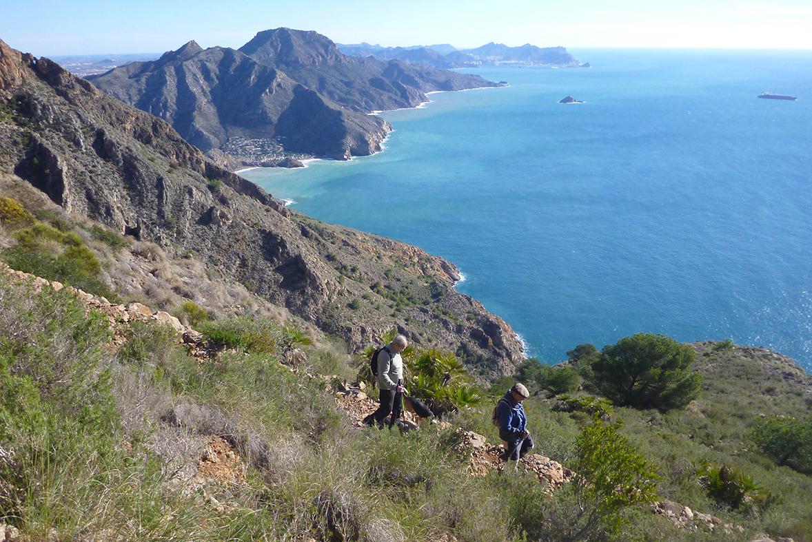 Espacio Natural Sierra de La Muela, Cabo Tiñoso y Roldán