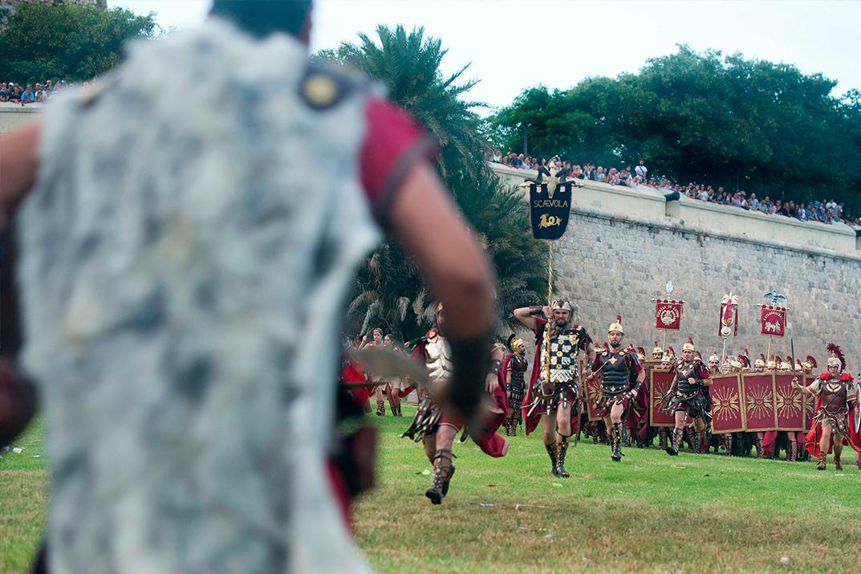 Carthagineses y Romanos