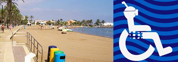 plages accessibles Ayuntamiento de Cartagena